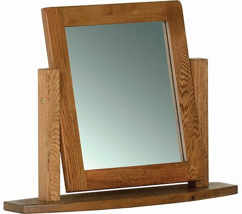 Devonshire Living Rustic Oak RM05 Dressing Table Mirror