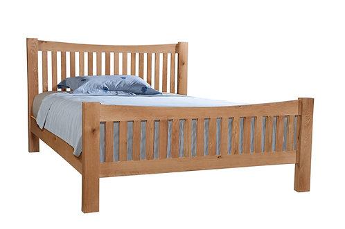Devonshire Living Dorset Oak DOR043 5' Slatted Bed