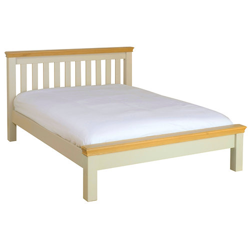Devonshire Pine Lundy LH35 5ft Low Foot End Bed