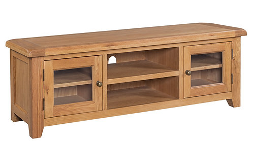 Devonshire Pine Somerset SOM088  Wide Screen TV Unit