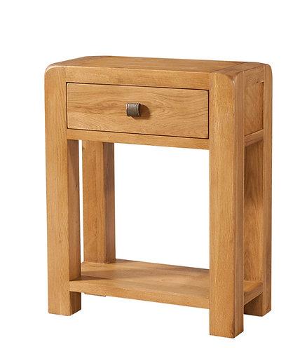 Devonshire Living Avon Oak DAV011 1 Drawer Console Table