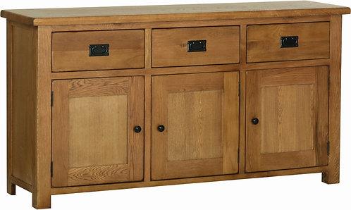 Devonshire Living Rustic Oak RS45 Large Sideboard