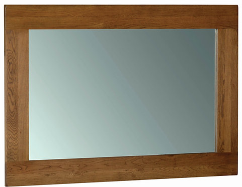 Devonshire Living Rustic Oak RM30 Wall Mirror