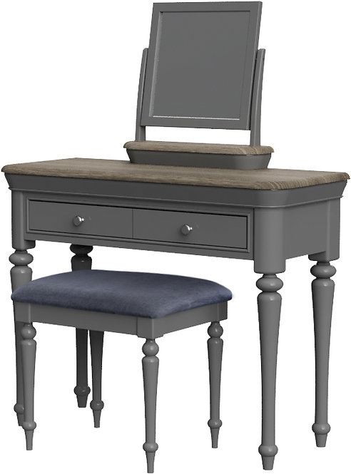 Devonshire Living Pebble Painted PEB022 Dressing Table