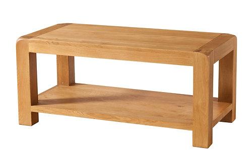 Devonshire Living Avon Oak DAV013 Coffee Table with Shelf