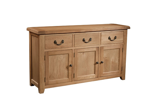 SOM053 3 Door 3 Drawer Sideboard
