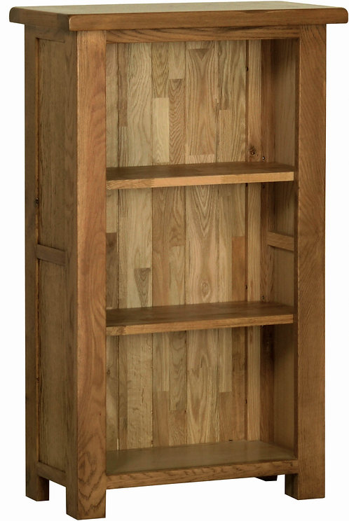 Devonshire Living Rustic Oak RK15 3ft Narrow Bookcase