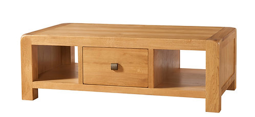 Devonshire Living Avon Oak DAV012 Large Coffee Table with Drawer