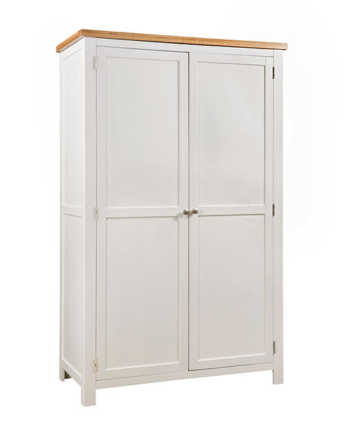 Devonshire Living Dorset Painted DPT031 All Hanging Double Wardrobe