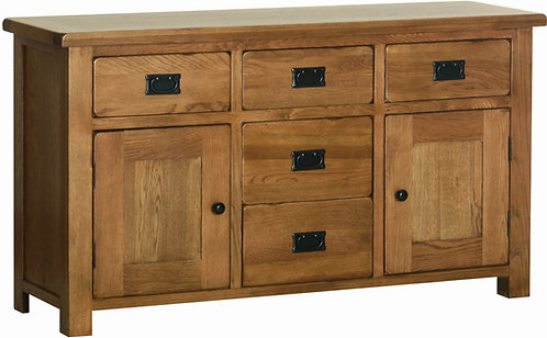"Devonshire Living Rustic Oak Occasional Range RS40 4'6"" Dresser Base"