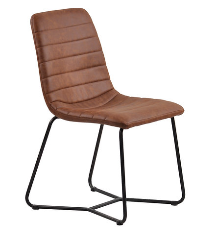Soft Faux Leather Tan Chair DC1300