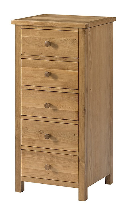Devonshire Pine Burford BF0005 5 Drawer Tall Chest