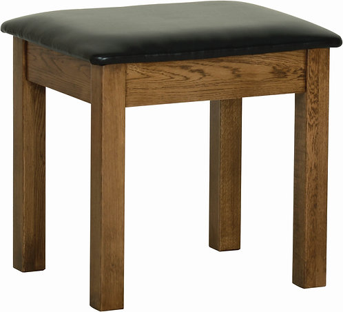 Devonshire Pine Rustic Oak RS10 Dressing Table Stool