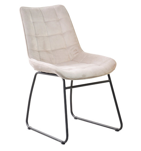 Soft Touch Square Stitched Mink Chair DC2210