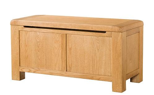 Devonshire Living Avon Oak DAV032 Blanket Box