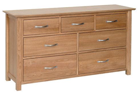 Devonshire Living New Oak NC90 Oak 3 Over 4 Combination Chest
