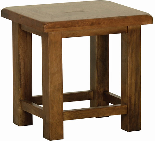 Devonshire Living Rustic Oak RT35 Side Table
