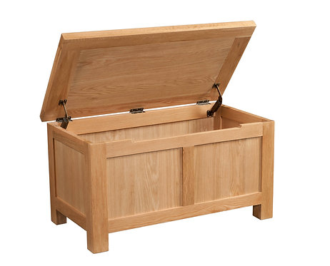Devonshire Living Dorset Oak DOR021 Blanket Box
