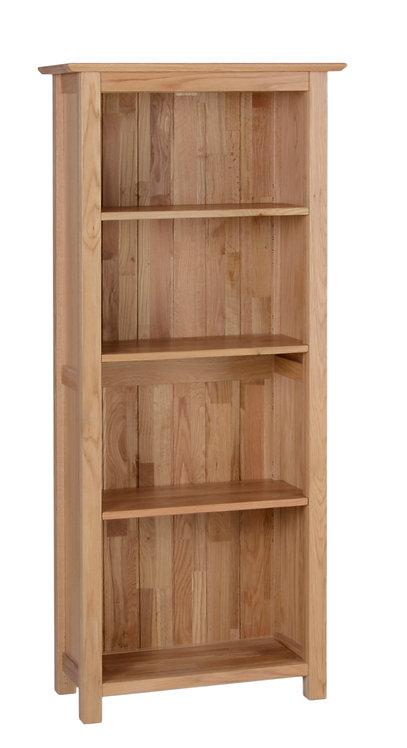 DEvonshire Pine New Oak NK25 5ft Narrow Bookcase