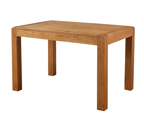 Devonshire Living Avon Oak DAV022 Fixed Top Dining Table 120x80