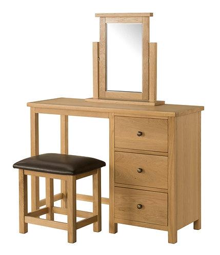 Devonshire Living Burford BFO018 Dressing Table,Stool and Mirror