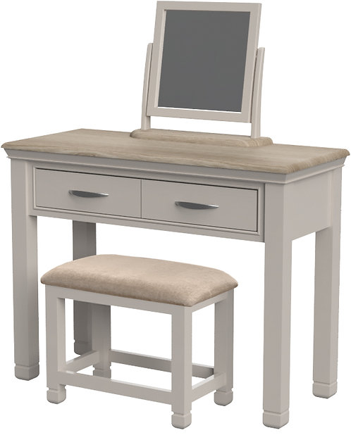 Devonshire Living Cobble Painted COB022 Dressing Table