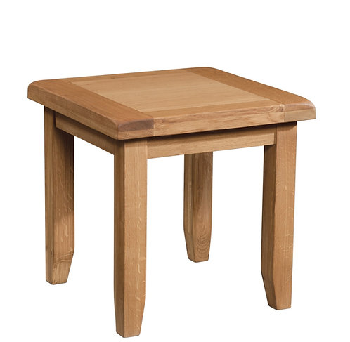 Devonshire Living Somerset Oak SOM077 Lamp Table