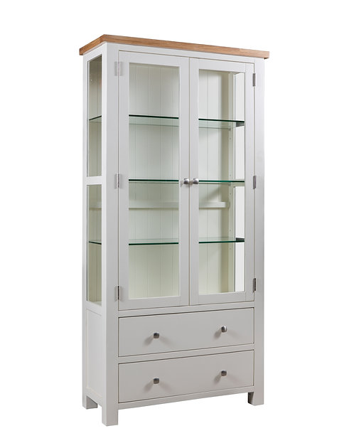Devonshire Living Dorset Painted DPT087 Display Cabinet