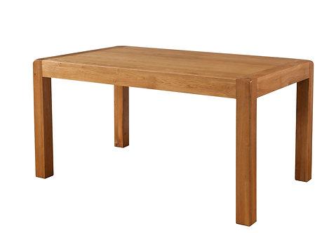 Devonshire Living Avon Oak DAV023 Fixed Top Dining Table 150x90