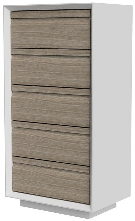 Devonshire Pine Corton CUB002 5 Drawer Wellington