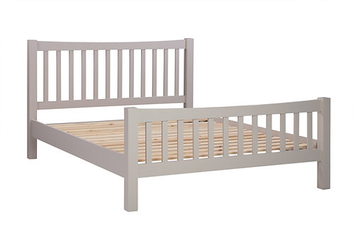 Devonshire Living Dorset Painted Putty DPT043P 5' Slatted Bed