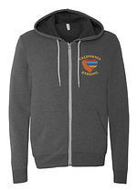 Gray Zip Up Hoodie with color logo.jpg
