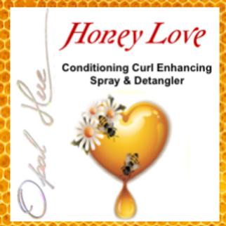8 oz. Honey Love Curl Enhancing Spray & Detangler