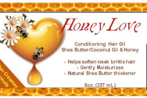 Honey Love Hair Oil sample