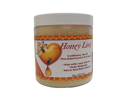 8 oz. Honey Love Hair Oil
