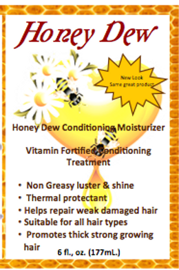 Honey Dew Hair Lotion sample