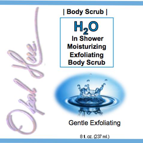 8 oz H2O Gentle exfoliating body scrub