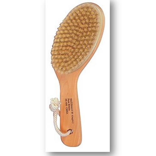 BASS Wood & Natural Fiber Body Brush
