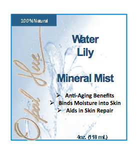 4 oz Water Lily Mineral Mist