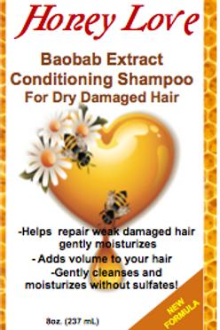 8 oz Baobab Extract Conditioning Shampoo
