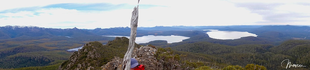Mt Hobhouse views over Lake King William