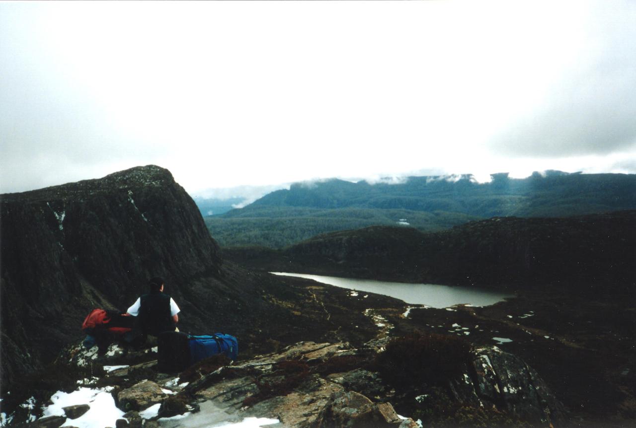 View towards King Davids Peak from Solomons throne