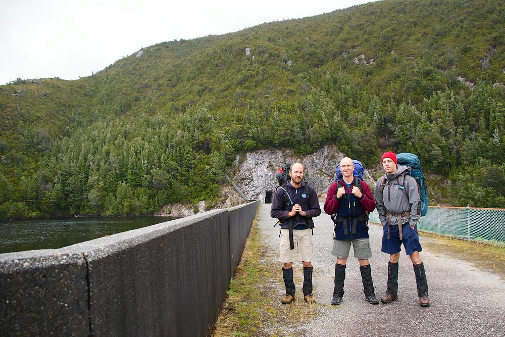 Serpentine Dam Start of walk