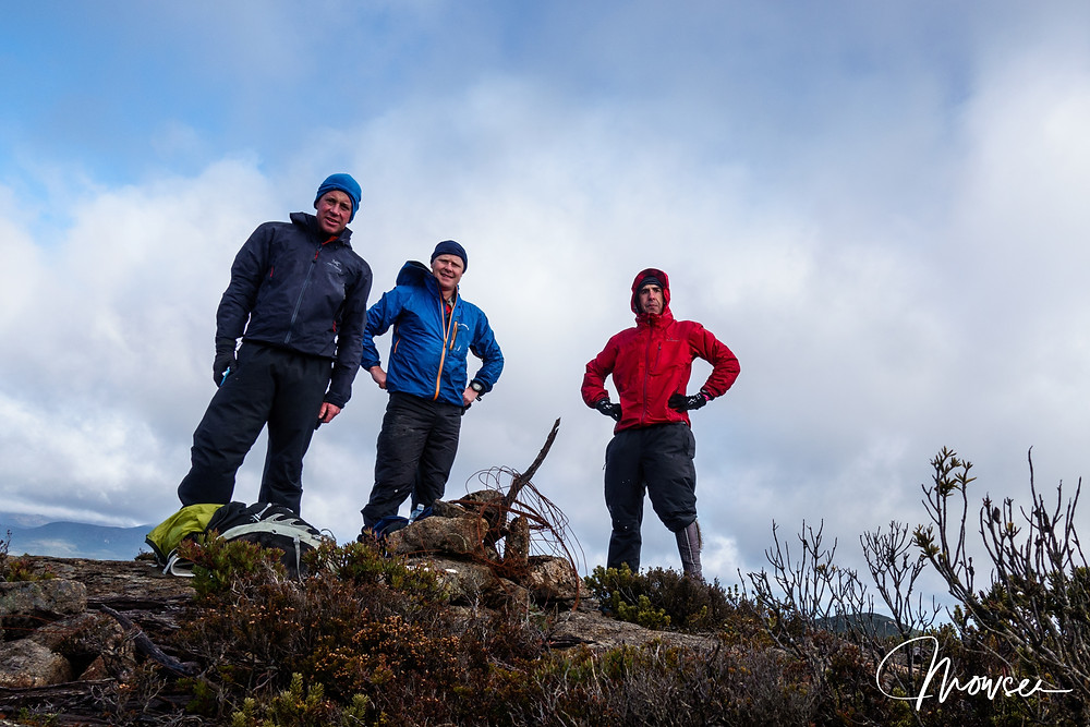 Mowser, Woolza and Crawf on Marriotts Lookout
