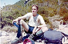 Mowsr on the way to Frencmans Cap, 1997