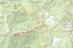 Adamsons Peak Route