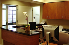 Beautiful remodeled reception area
