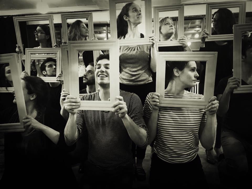 Les comédiens du spectacle Amsterdam en répétition