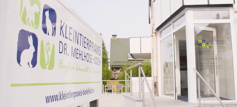Kleintierpraxis Dr.Silke  Mehlhose-Koch, neue Praxisräume