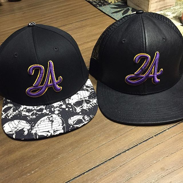 This LA24 style snap back $15.jpg